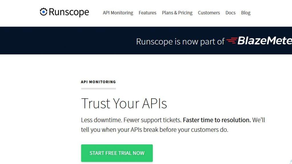 Runscope API