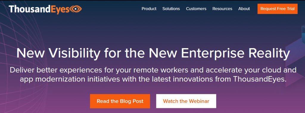 thousandeyes monitoring réseaux