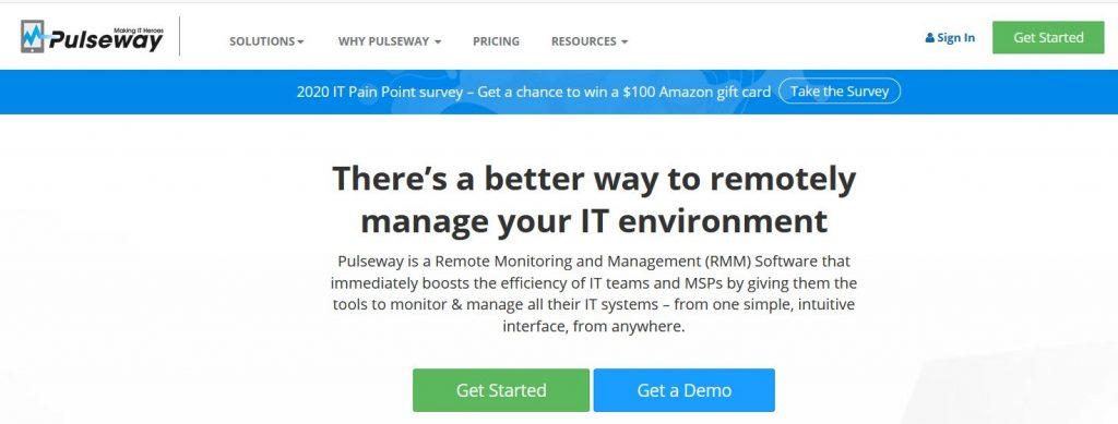 pulseway monitoring OS linux, windows et mac