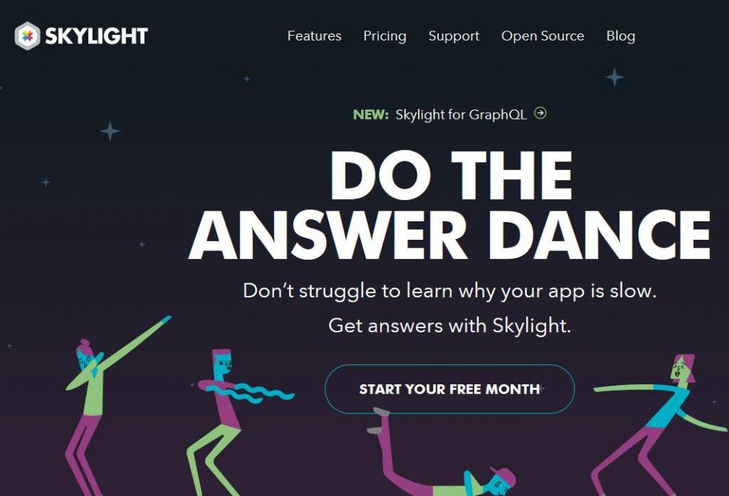 slylight monitoring web